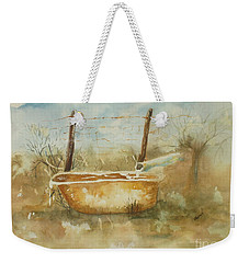 Study Of A Watering Tub Weekender Tote Bag
