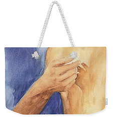 Study Of Lovers  Weekender Tote Bag