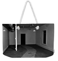 Weekender Tote Bag featuring the photograph Study Of Space 7 by David Pantuso