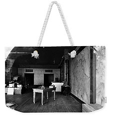 Weekender Tote Bag featuring the photograph Study Of Space 8 by David Pantuso