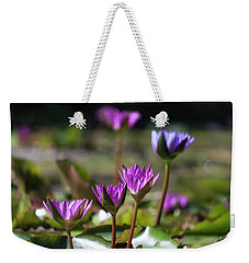 Weekender Tote Bag featuring the photograph Stuff Of Dreams by Suzanne Gaff
