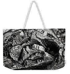 Stump Texture Weekender Tote Bag