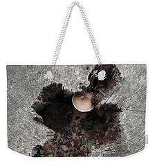Stumped Yet Still Singing Weekender Tote Bag