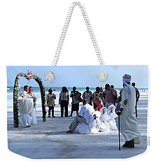 Stunning Kenya Beach Wedding Weekender Tote Bag
