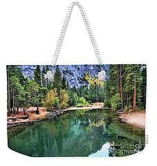 Stunning Lake - Yosemite  Weekender Tote Bag