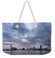 Stunning Sunset Over Kowloon In Hong Kong Weekender Tote Bag