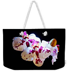 Stunning Twin Orchids Weekender Tote Bag
