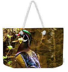 Stunning Wood Duck Weekender Tote Bag