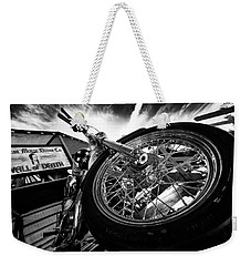 Stunt Bike Weekender Tote Bag