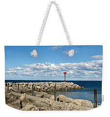 Sturgeon Point Marina On Lake Erie Weekender Tote Bag