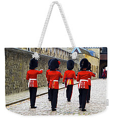 Step Aside For The Tower Guard Weekender Tote Bag