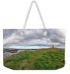 Stykkisholmur Harbor Pano Weekender Tote Bag