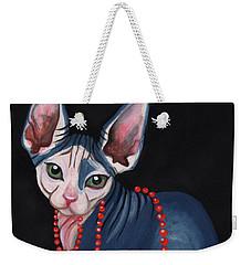 Stylish Sphynx Weekender Tote Bag
