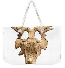 Styracosaur Skull Weekender Tote Bag