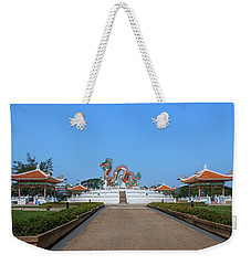 Suan Sawan Golden Dancing Dragon Dthns0145 Weekender Tote Bag