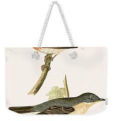 Sub Alpine Warbler Weekender Tote Bag by English School