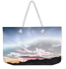 Submarine In The Sky Weekender Tote Bag