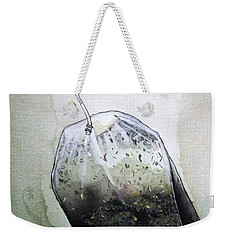 Submerged Tea Bag Weekender Tote Bag by Mary Ellen Frazee