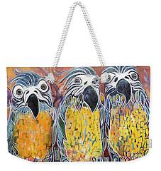 Subtle Harmony Weekender Tote Bag by Leela Payne