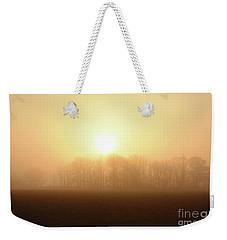 Subtle Sunrise Weekender Tote Bag