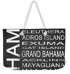 Subway Bahamas 1 Weekender Tote Bag