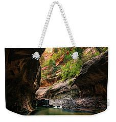 Subway Canyon Weekender Tote Bag