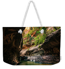 Subway Canyon Weekender Tote Bag