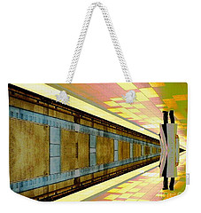 Subway Man Weekender Tote Bag