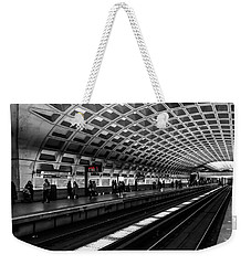 Subway Station Weekender Tote Bag