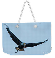 Successful Bald Eagle Weekender Tote Bag by Jeff at JSJ Photography
