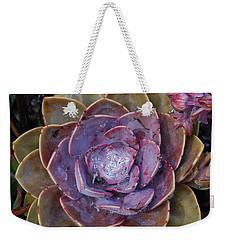 Succulent Star Weekender Tote Bag