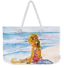 Such A Perfect Day  Weekender Tote Bag by Trudi Doyle