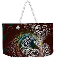 Weekender Tote Bag featuring the digital art Sudden Outburst by Anastasiya Malakhova