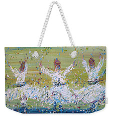 Sufi Whirling Weekender Tote Bag by Fabrizio Cassetta