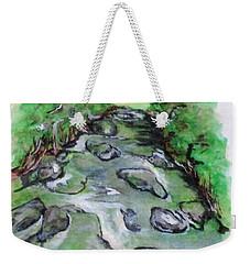 Sugar Creek, Boyhood Memory Weekender Tote Bag