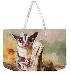 Sugar Glider - Painterly Weekender Tote Bag