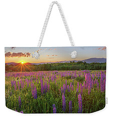 Sugar Hill New Hampshire Lupine Weekender Tote Bag