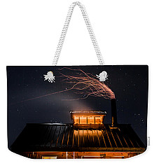 Sugar House At Night Weekender Tote Bag