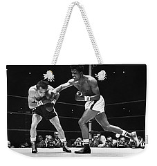 Weekender Tote Bag featuring the photograph Sugar Ray Robinson by Granger