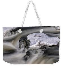 Sugar River Flowing Weekender Tote Bag