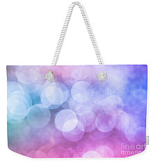 Weekender Tote Bag featuring the photograph Sugared Almond by Jan Bickerton