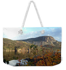 Sugarloaf Hill In Autumn Weekender Tote Bag by Barbara Griffin