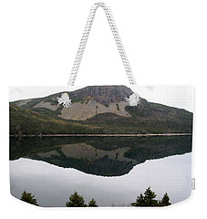 Weekender Tote Bag featuring the photograph Sugarloaf Hill Reflections by Barbara Griffin