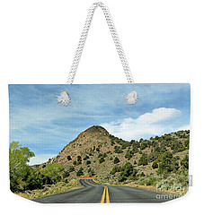 Weekender Tote Bag featuring the photograph Sugarloaf Mountain In Six Mile Canyon by Benanne Stiens