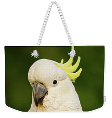 Sulphur Crested Cockatoo Weekender Tote Bag