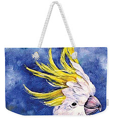 Sulphur-crested Cockatoo Weekender Tote Bag