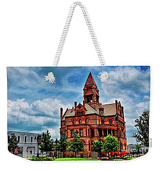 Sulphur Springs Courthouse Weekender Tote Bag by Diana Mary Sharpton