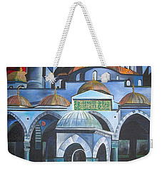 Sultan Ahmed Mosque Istanbul Weekender Tote Bag by Tracey Harrington-Simpson