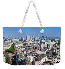 Sumer Panorama Of London Weekender Tote Bag