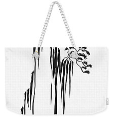 Sumi-e - Bonsai - One Weekender Tote Bag